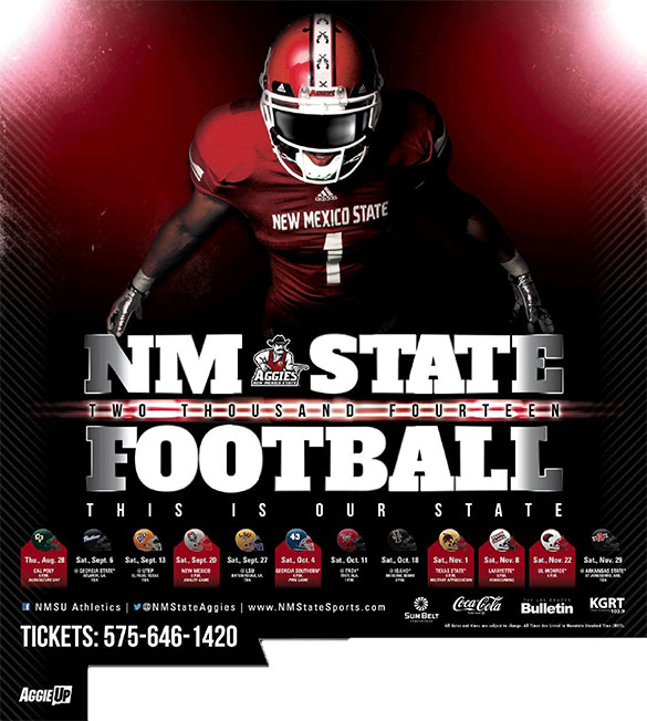 2014 NM State Football Schedule
