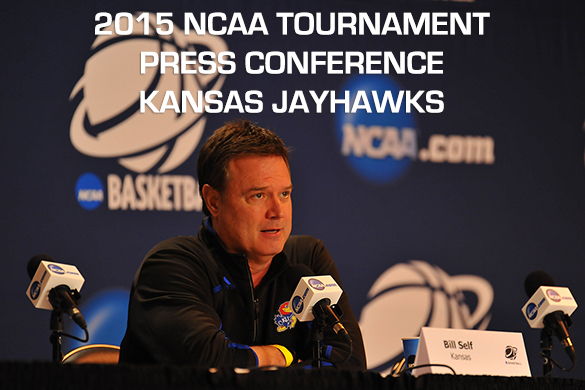 NCAA Tournament Press Conference :: Kansas Jayhawks