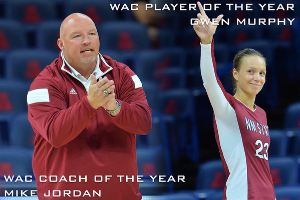 Gwen Murphy Named WAC Player Of The Year, Mike Jordan Named WAC Coach Of The Year